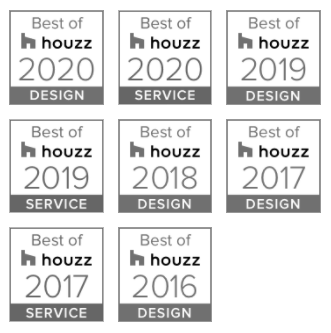 Houzz award logos